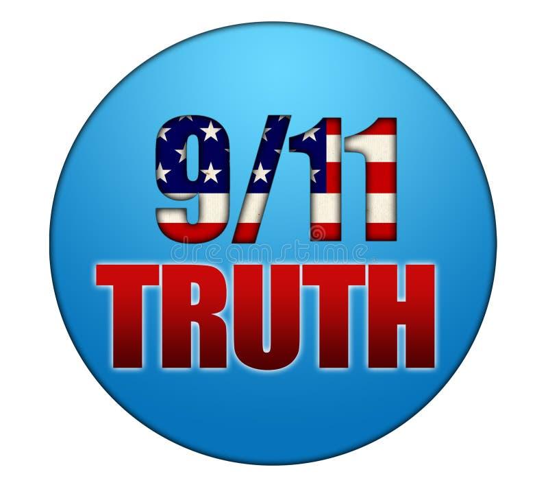 verdade 911 ilustração stock