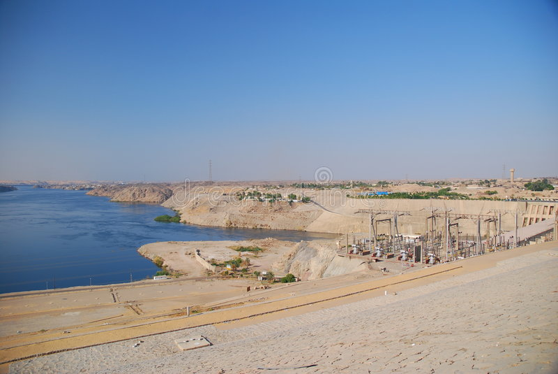 Verdammung in Ägypten lizenzfreies stockbild