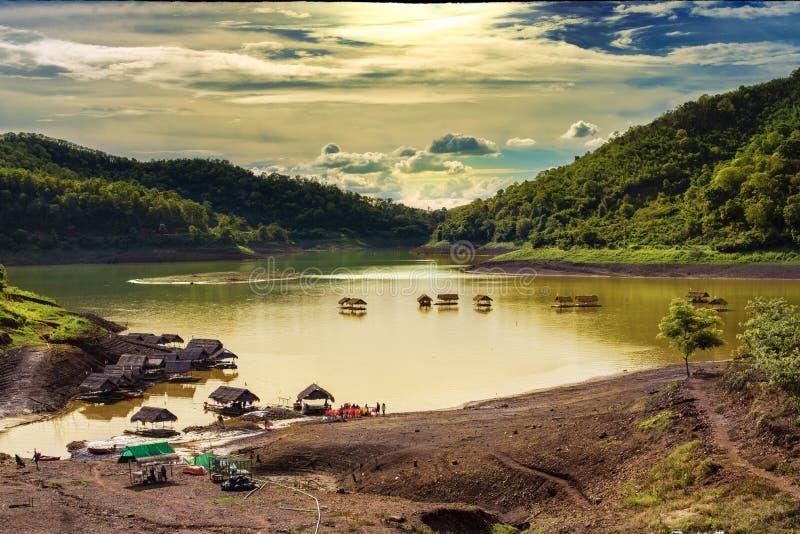 Verdammungsnatur in Thailand lizenzfreie stockfotos