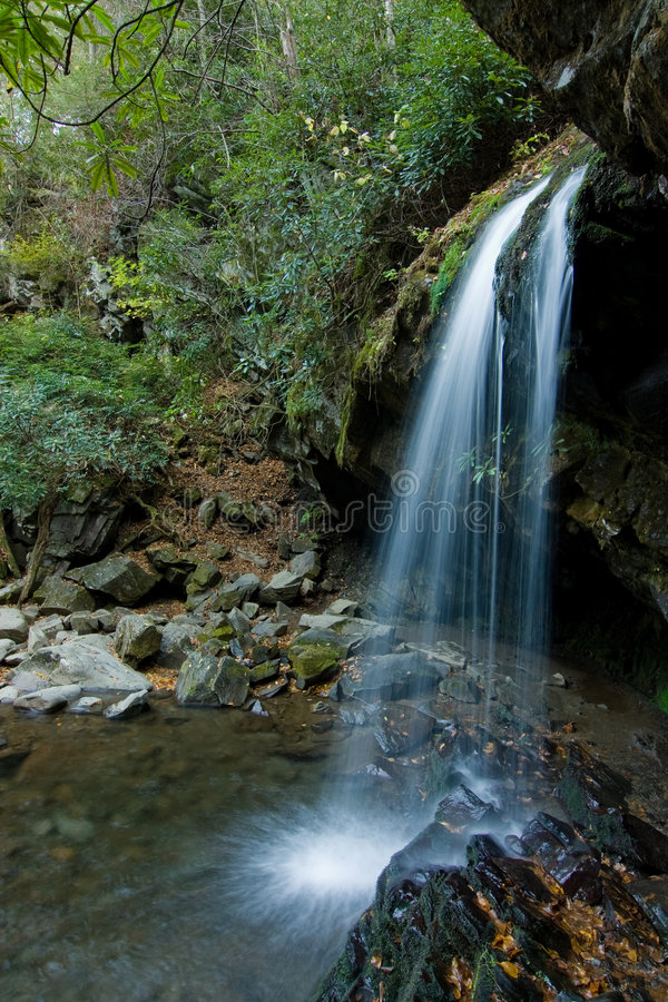 Download Verdant Waterfall Royalty Free Stock Photos - Image: 3676528