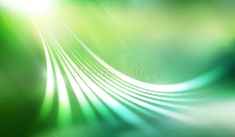 Verde astratto della priorità bassa royalty illustrazione gratis