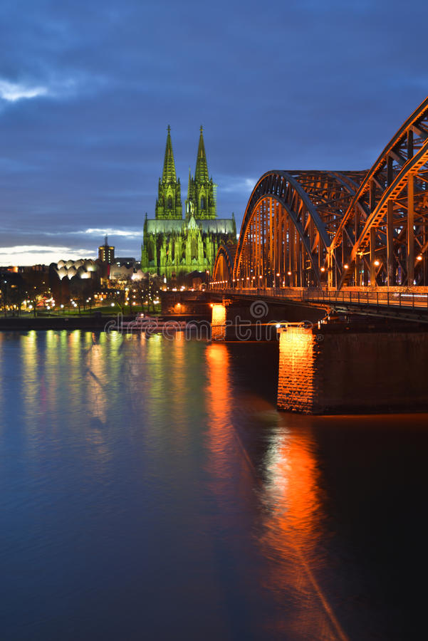 Verde da água de Colônia fotografia de stock