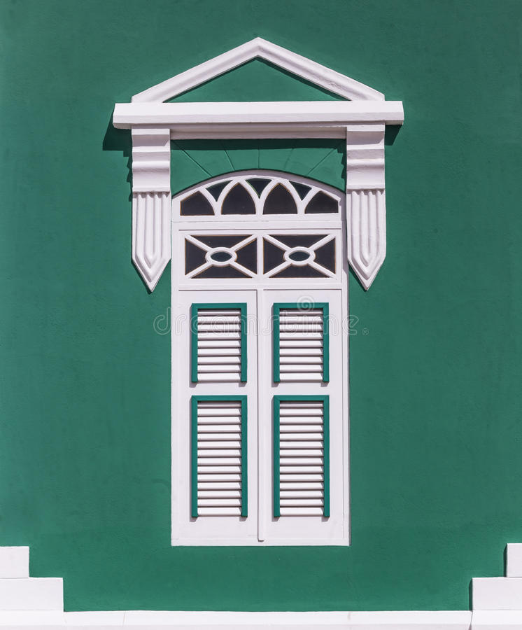 Verde das caraíbas foto de stock