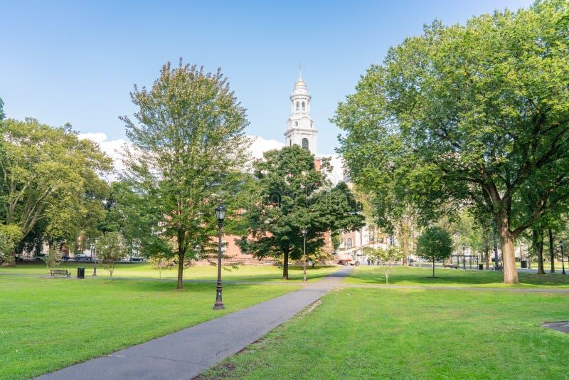 Verde de New Haven fotografía de archivo libre de regalías
