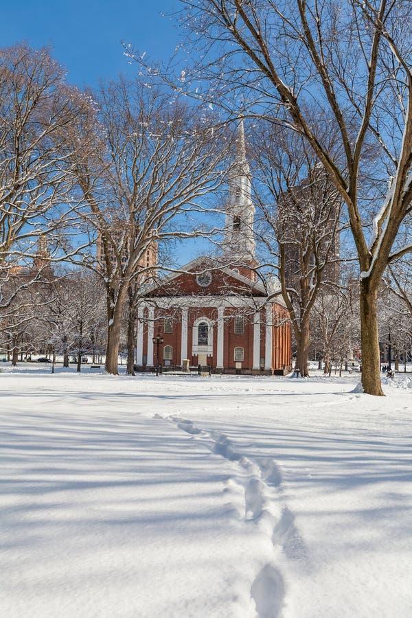 Verde de New Haven imagen de archivo libre de regalías