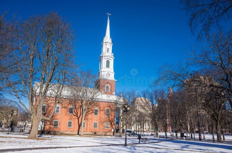Verde de New Haven fotos de archivo libres de regalías