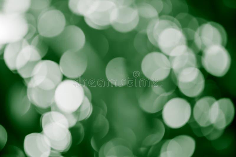 verde del fondo del bokeh imagen de archivo libre de regalías