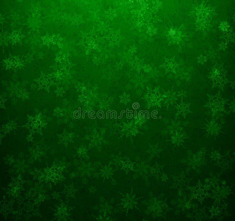 Verde del fondo de la Navidad ilustración del vector
