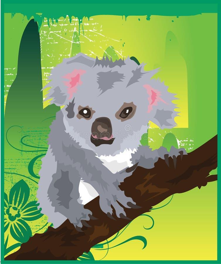 Verde del Koala royalty illustrazione gratis