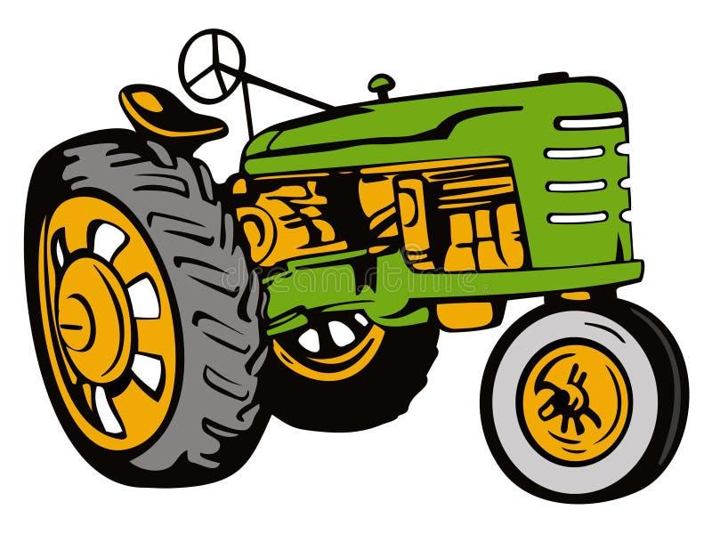 Download Verde Del Trattore Dell'annata Fotografia Editoriale - Illustrazione di illustrazione, agricoltura: 3147447