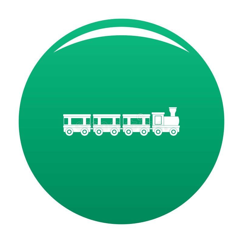 Verde del vector del icono de los carros libre illustration