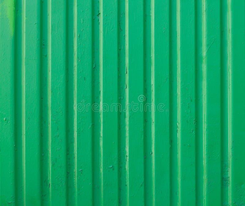Verde della foglia del metallo del fondo, profilo immagine stock