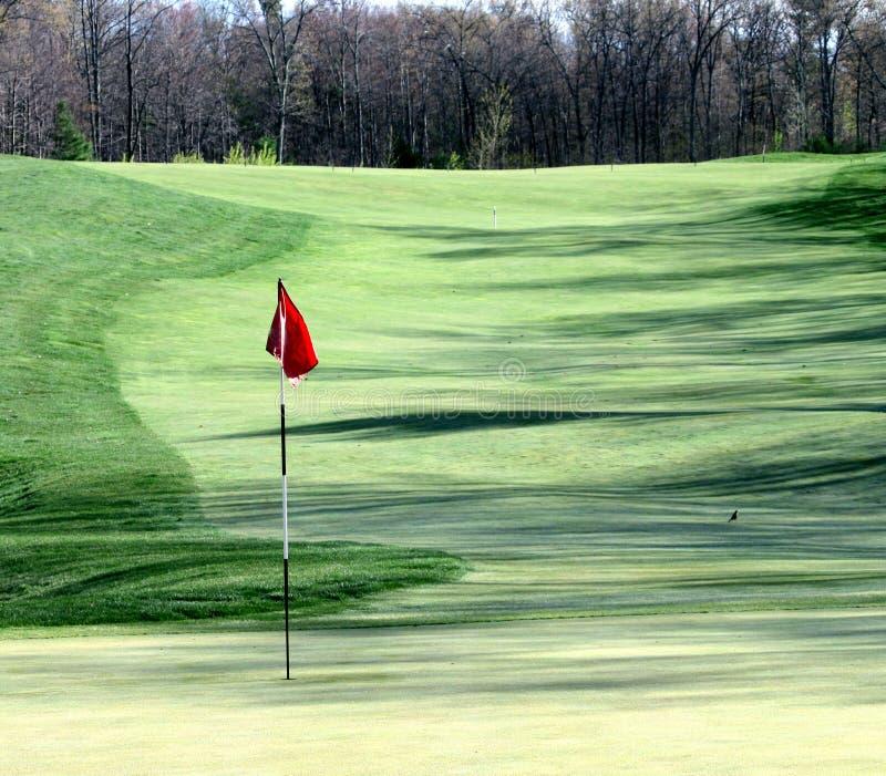 Verde di golf immagini stock libere da diritti