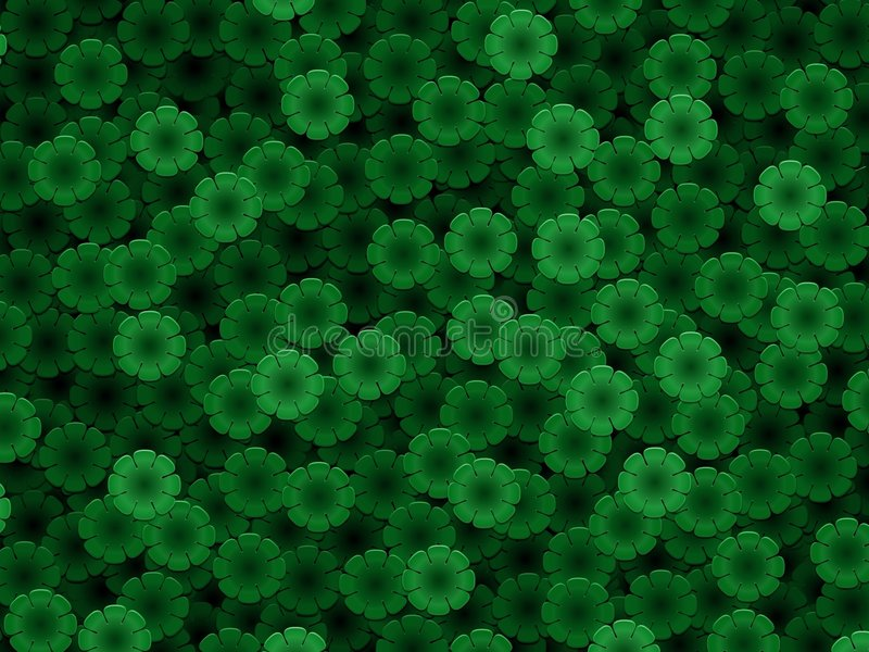 Verde di P illustrazione vettoriale