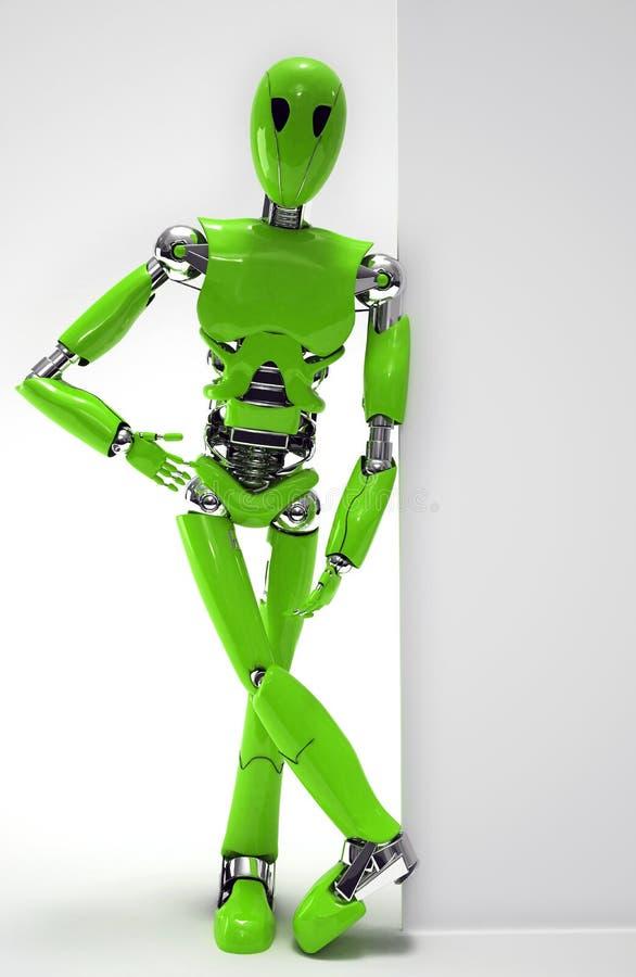 Verde do robô