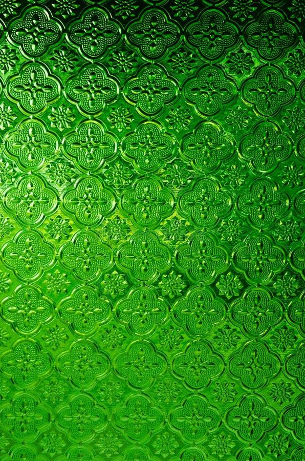 Verde do vidro fotografia de stock royalty free