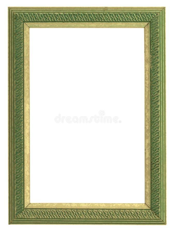 Verde e blocco per grafici dell'oro immagine stock libera da diritti