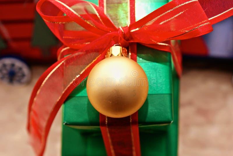 Verde E Ouro Imagem de Stock