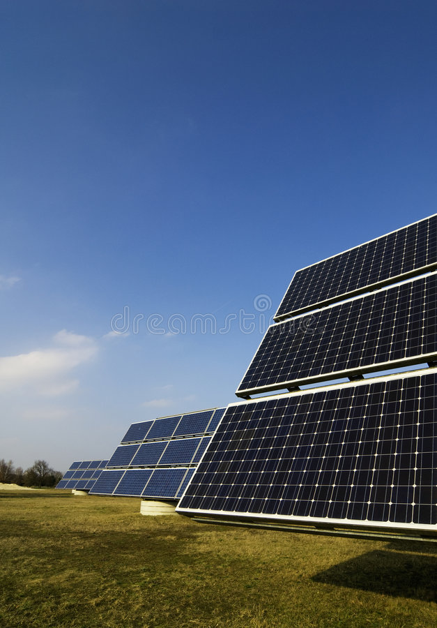 Verde-energia foto de stock