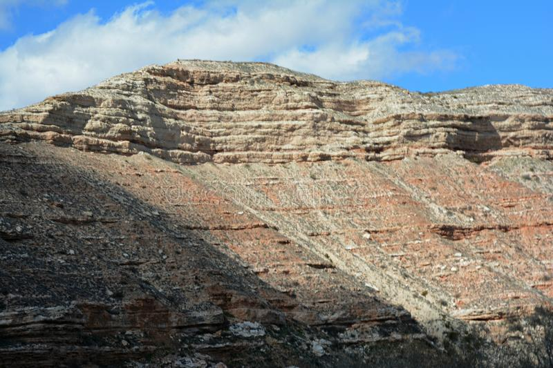 Verde jaru Escarpment - Północny Arizona obrazy stock