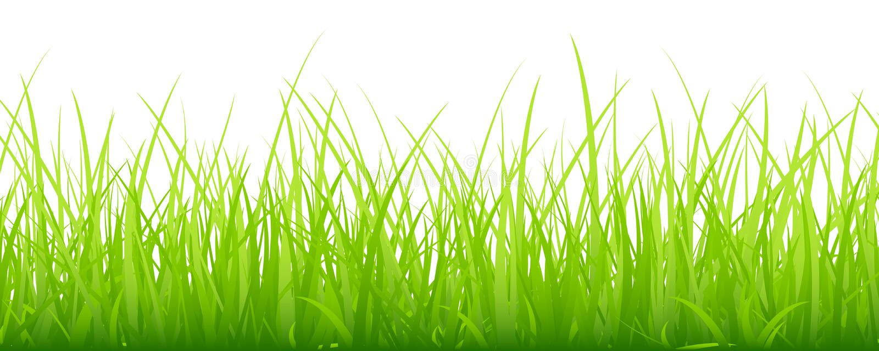 Verde orizzontale dell'insegna del grande prato royalty illustrazione gratis