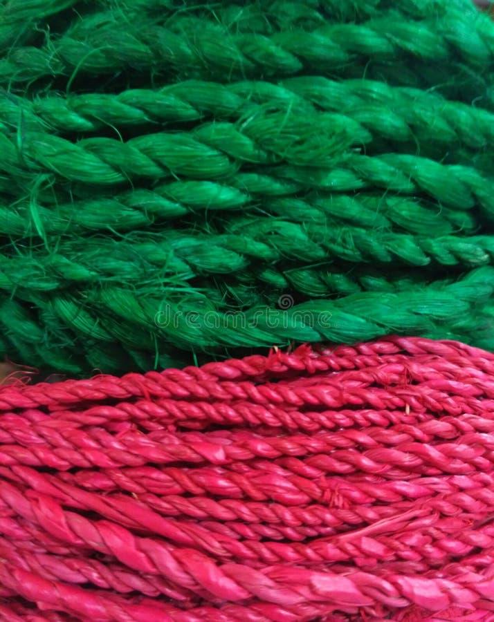 Verde rosso fotografia stock