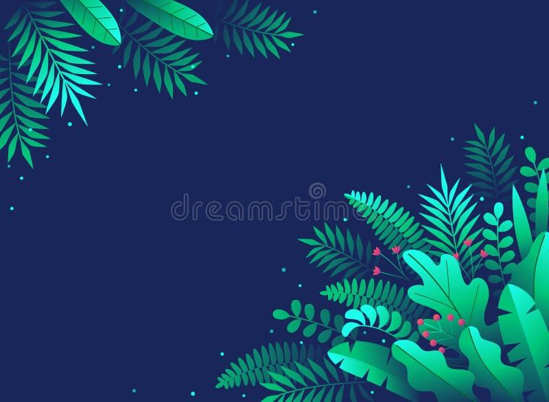 Verde traseiro abstrato floral 3 foto de stock