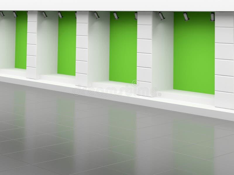 Verde vazio ilustração do vetor