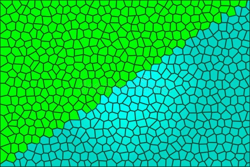 Verde y azul foto de archivo libre de regalías