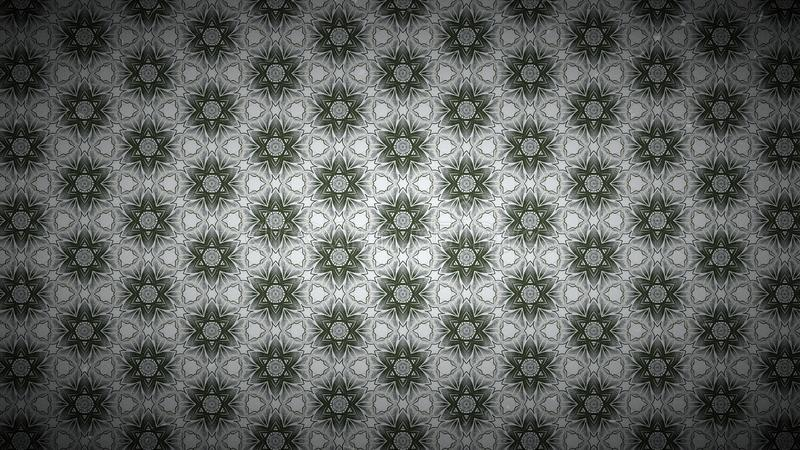 Verde y Grey Vintage Floral Wallpaper Background ilustración del vector