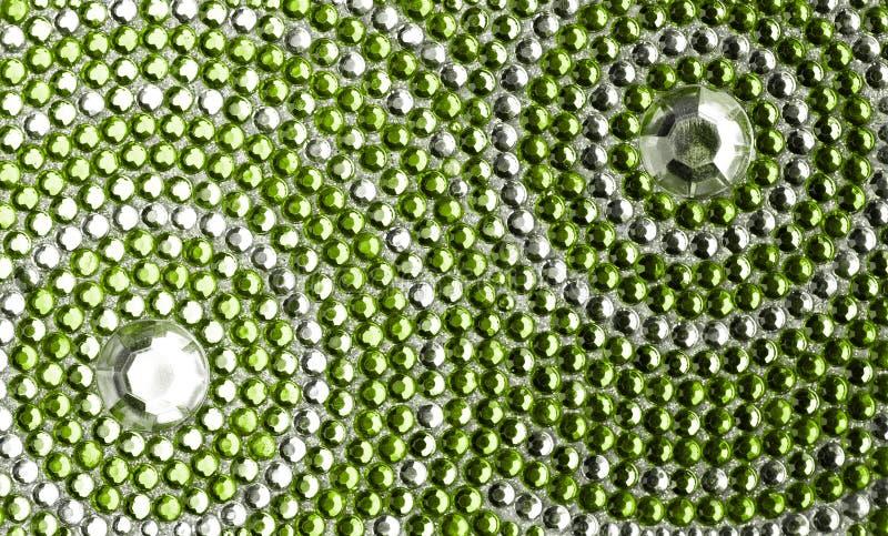Verde y textura de la plata fotos de archivo libres de regalías