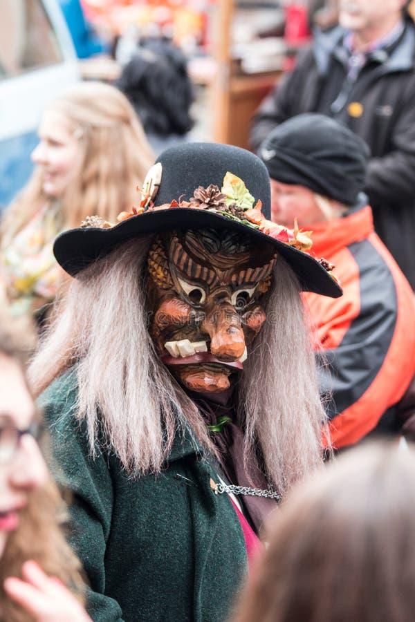 Verdeckte Karnevals-Zahl stockbilder