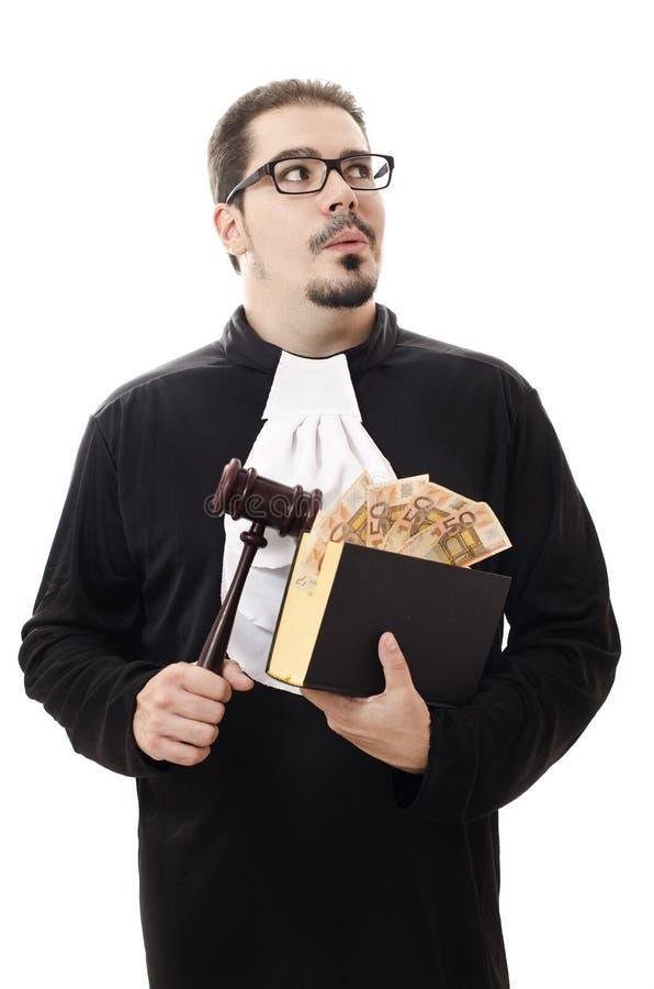 Verderben Sie Richter lizenzfreie stockfotos