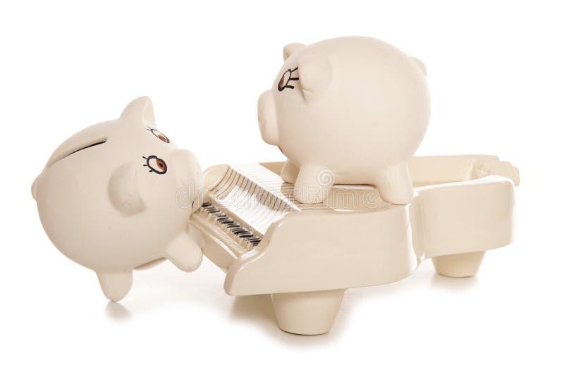 Verdienen des busking Geldes lizenzfreie stockbilder