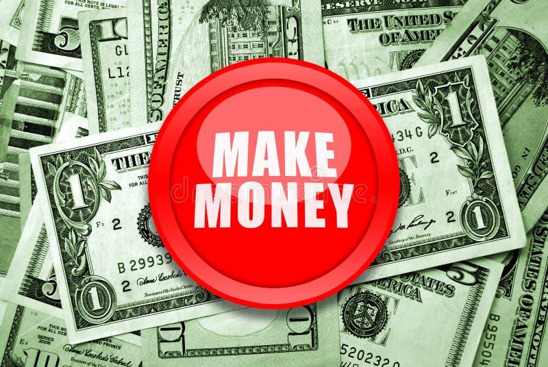 Verdienen Sie Geld lizenzfreie stockfotos