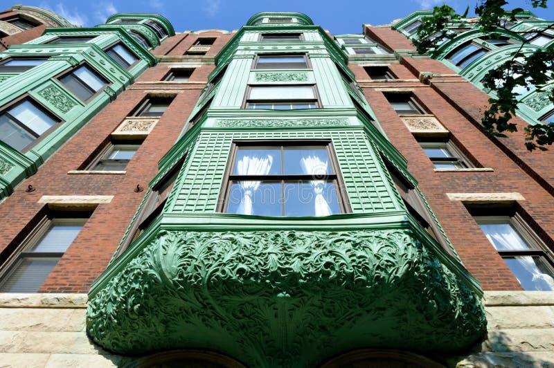 Download Verdigris perspective stock photo. Image of detail, building - 6943814