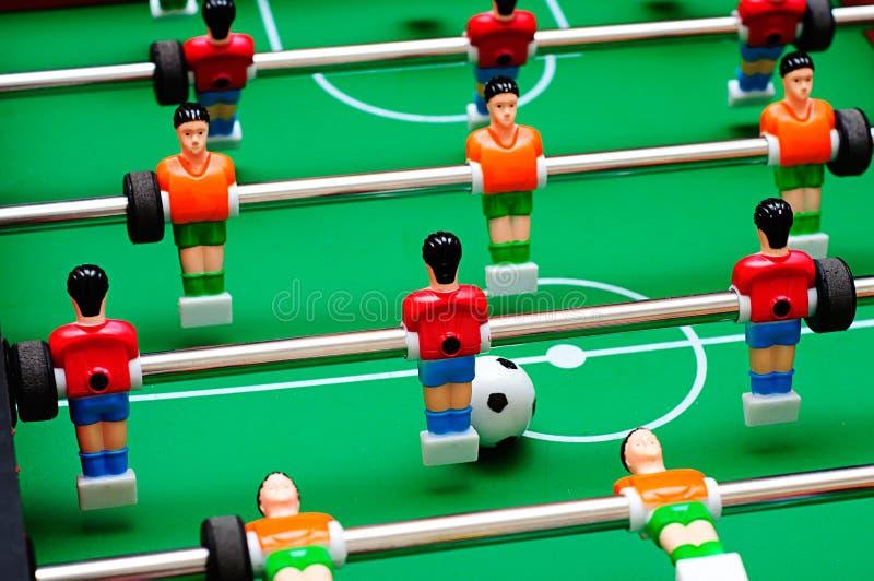 Verdissez les joueurs de zone et de football photographie stock