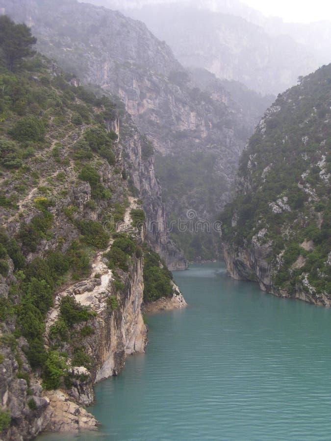 verdon 3 gorges стоковая фотография rf