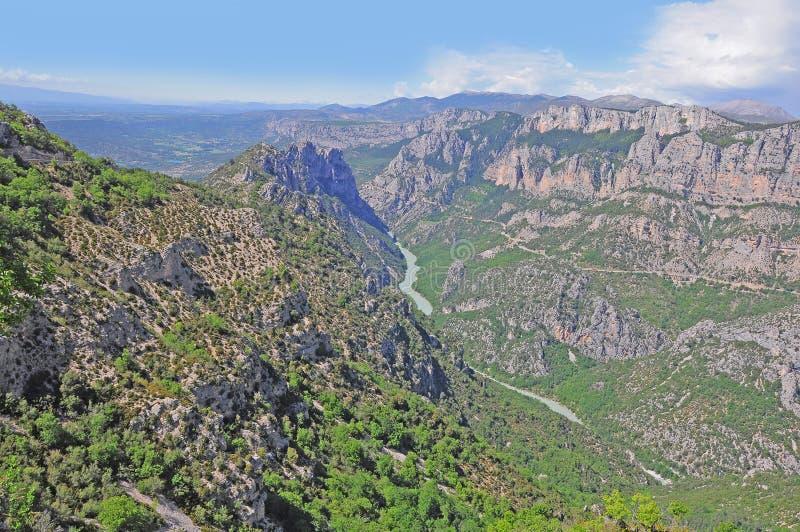 Download Verdon gorge. stock photo. Image of green, bridge, france - 26635010