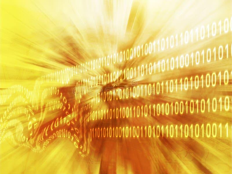 Verdorbene Daten lizenzfreie abbildung
