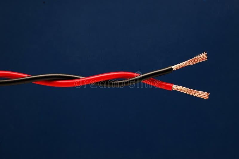 Verdraaide kabel royalty-vrije stock foto's