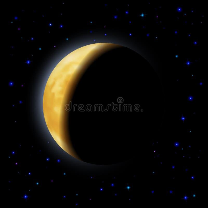 Verduistering van de Maan stock illustratie