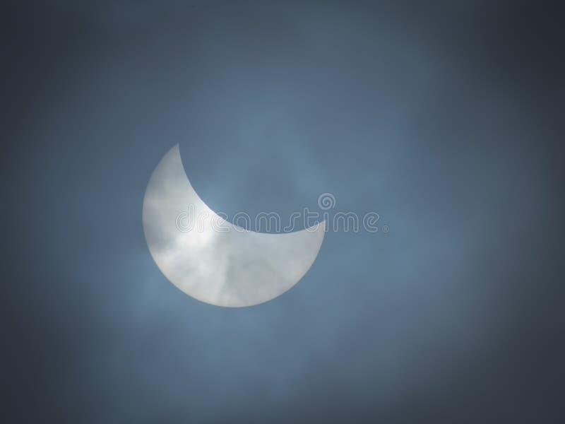 Verduistering van de zon stock illustratie