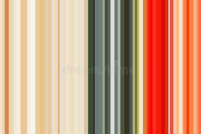 Verduras concepto, color del arco iris Modelo inconsútil colorido de las rayas Fondo abstracto de la ilustración Color moderno el stock de ilustración