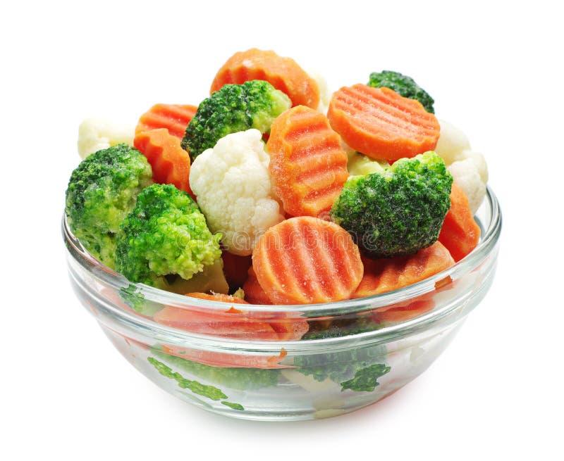 Verduras congeladas foto de archivo libre de regalías