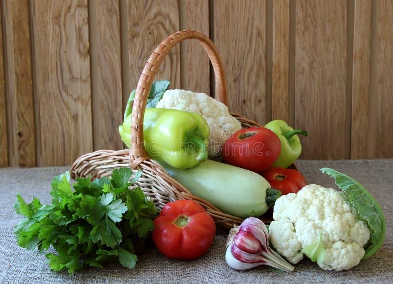 Verduras estacionales maduras fotografía de archivo libre de regalías