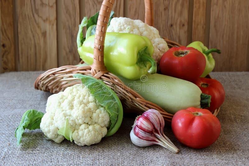 Verduras estacionales maduras foto de archivo libre de regalías