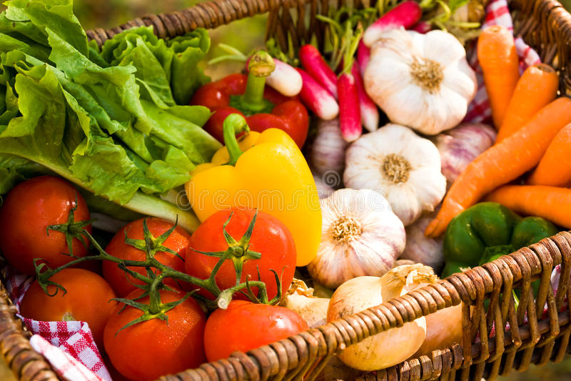 Verduras frescas. imagenes de archivo