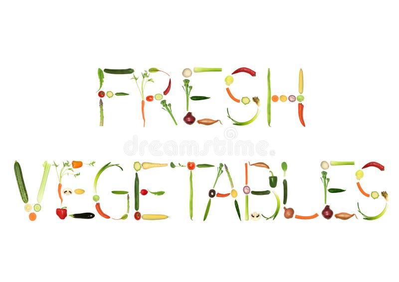 Verduras frescas stock de ilustración