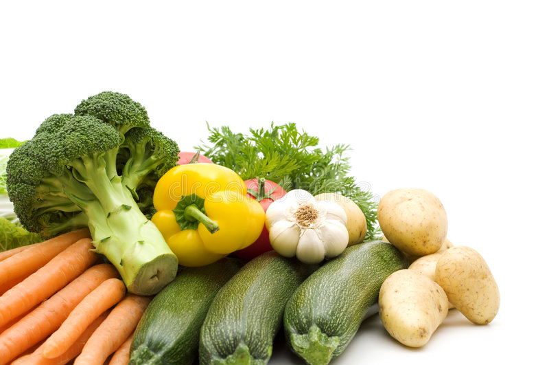 Download Verduras frescas imagen de archivo. Imagen de verde, patata - 7282457